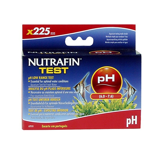 Nutrafin pH Low Range Test (6.0 - 7.6)