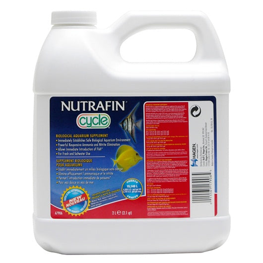 Nutrafin Cycle Biological Aquarium Supplement