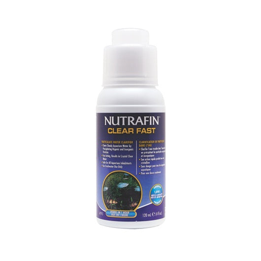 Nutrafin Clear Fast Particulate Water Clarifier 120ml/4floz