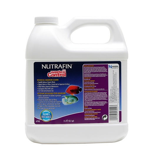 Nutrafin Waste Control Biological Aquarium Cleaner