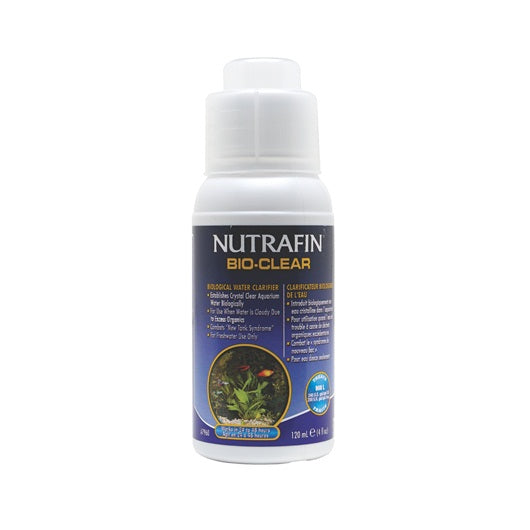 Nutrafin Bio-Clear Biological Water Clarifier 120ml/4floz