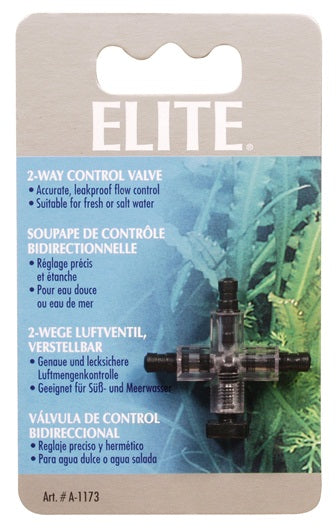 Elite Plastic 2-Way Control Valve