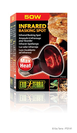 Exo Terra Infrared Basking Spot Lamps