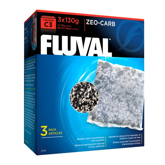 Fluval C3 Zeo-Carb 3pk