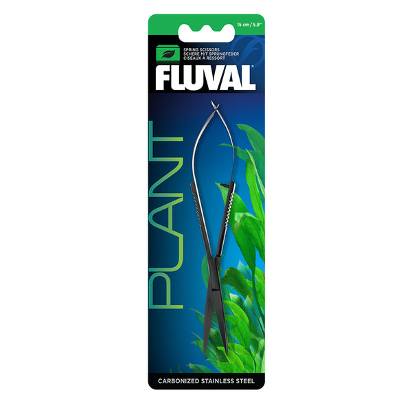Fluval Carbon Spring Scissors - 15cm/5.9""