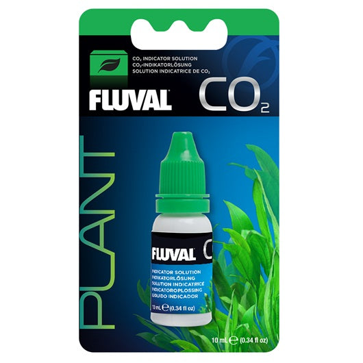 Fluval CO2 Indicator Solution - 10 ml (0.34 fl oz)