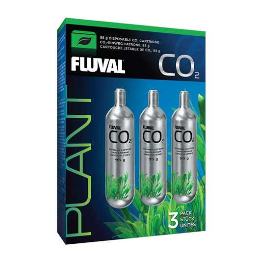 Fluval 95g CO2 Cartridges - 3 pack