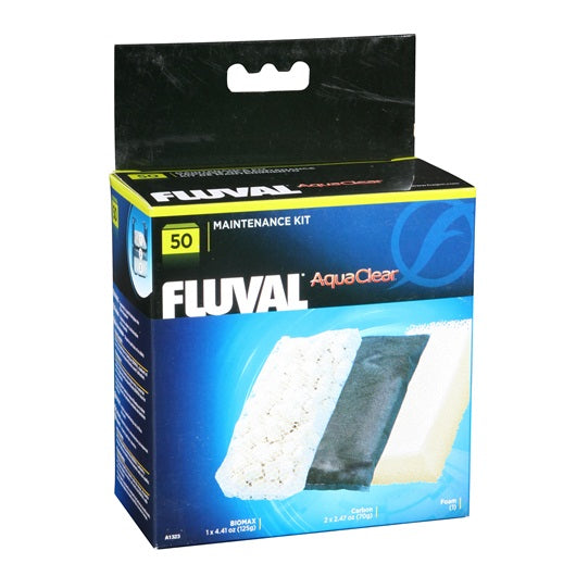 Fluval / AquaClear 50 Filter Media Maintenance Kit