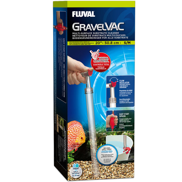 Fluval GravelVAC Multi-Substrate Cleaner (S/M) up to 50.8cm/ 20″