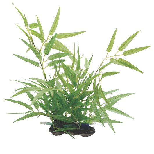"Fluval Decorative Plants - Bamboo Shoots 14""/35 cm with base"