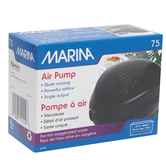 Marina 75 Air Pump up to 25G/100L