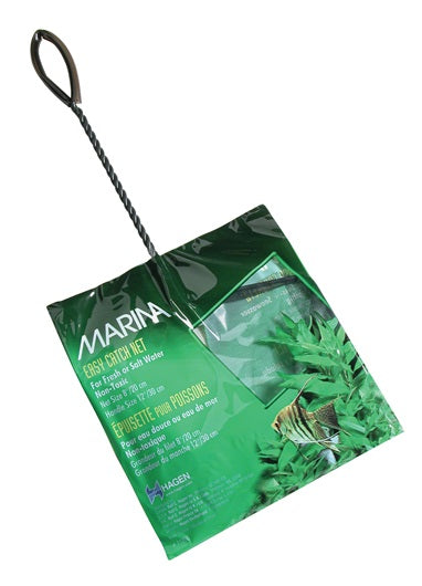 "Marina Easy Catch Fish Net 12"" Handle Assorted Sizes"