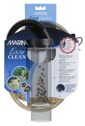 "Marina Easy Clean Small Aquarium Gravel Cleaner - 25 cm (10"")"
