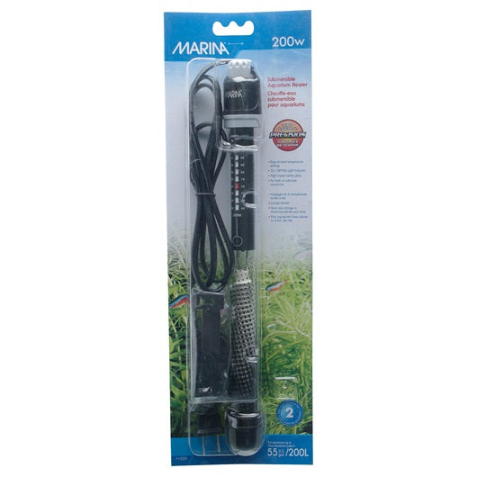 Marina Submersible Pre-Set Heater 200W 27cm/10.6""
