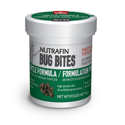 Nutrafin Bug Bites Turtle S-M 5-7 mm 45g/1.6oz