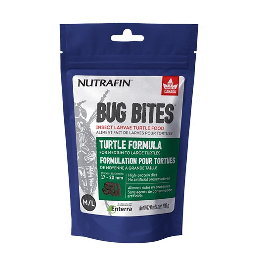 Nutrafin Bug Bites Turtle M-L 17-20 mm 100g/3.5oz