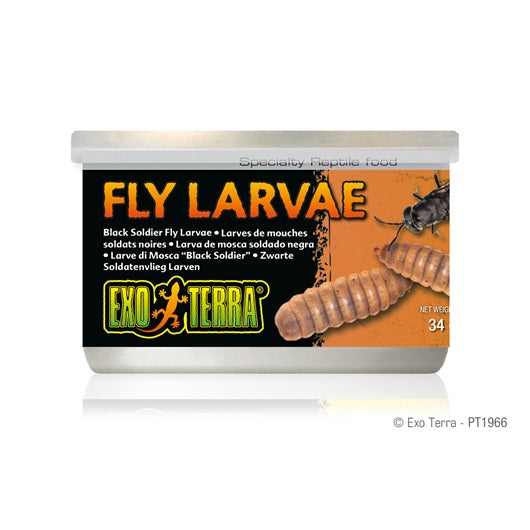 Exo Terra Canned Black Solider Fly Larvae 34g/1.2oz