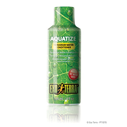 Exo Terra Aquatize Terrarium Water Conditioner 120ml