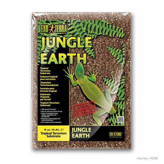 Exo Terra Jungle Earth Terrarium Substrates