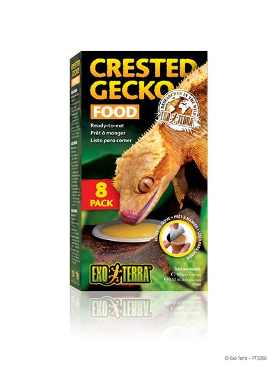 Exo Terra Crested Gecko Food Cups 8 Pack