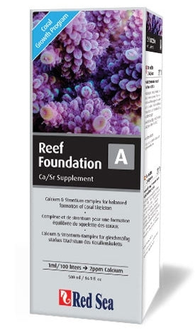 Red Sea Reef Foundation A (ca/sr) 500ml