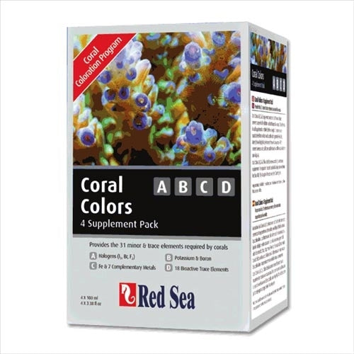 Red Sea Reef Colours ABCD 4pk (4x100ml)