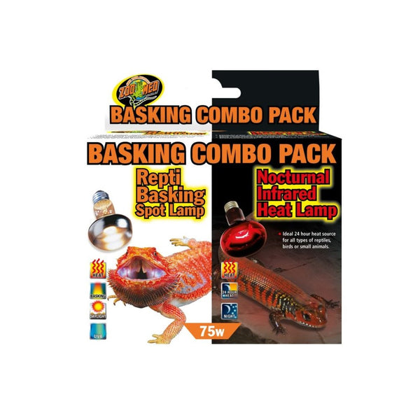 Zoo Med Basking/Infrared Combo Pack