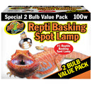 Zoo Med Basking Spot Lamp Value Pack