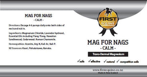 Mag for Nags - Calm