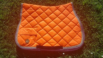 High Vis Saddle blanket Orange
