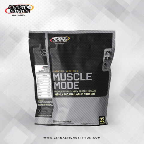 Muscle Mode Whey Protein Isolate (1kg)