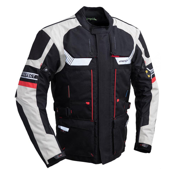 Textile Long Touring Jacket