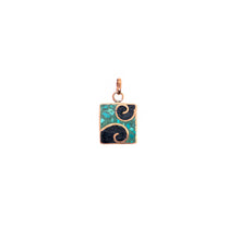 Load image into Gallery viewer, Stone Spiral Pendant