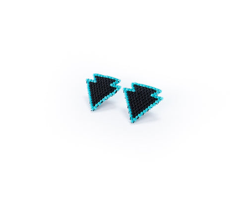 Black Arrow Earrings
