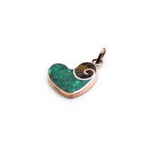 Load image into Gallery viewer, Heart Spiral Pendant