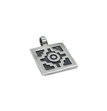 Load image into Gallery viewer, Chakana Silver Pendant