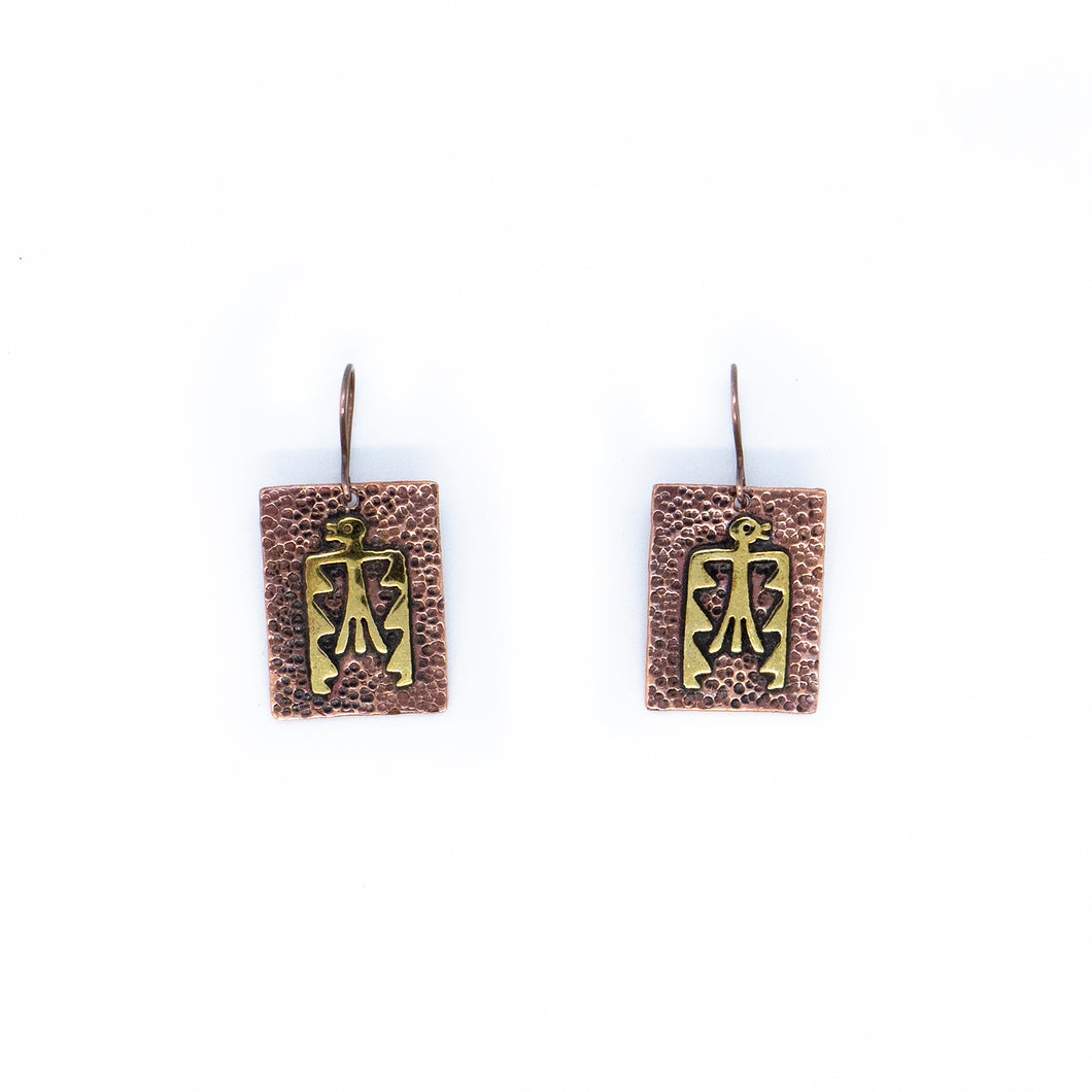 Kuntur Copper/Brass Earrings
