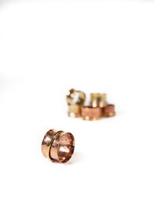 Copper Fidget Ring