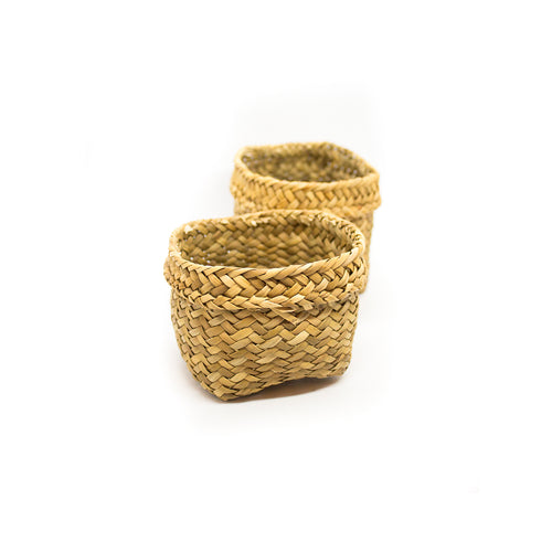 Totora Basket - Sets of Two