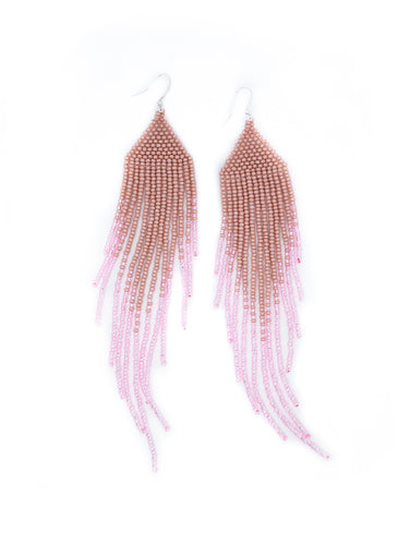 Pink Gradient Earrings