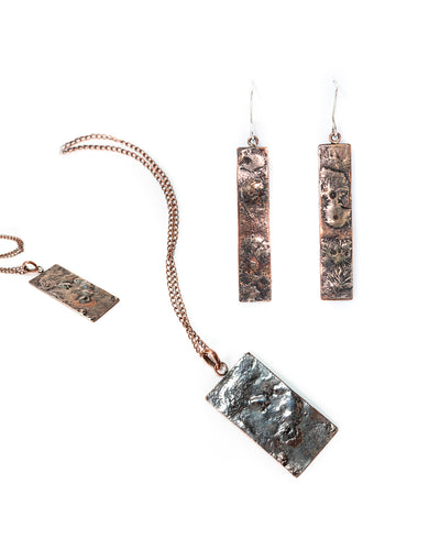 Stardust Earring and Pendant Set