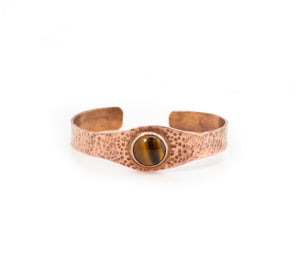 Tiger's Eye Copper Bracelet