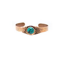 Load image into Gallery viewer, Turquoise Copper Bracelet