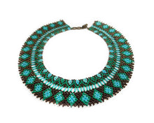 Load image into Gallery viewer, Turquoise Burst Necklace