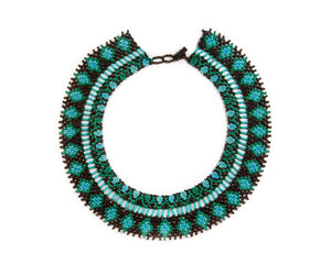 Turquoise Burst Necklace