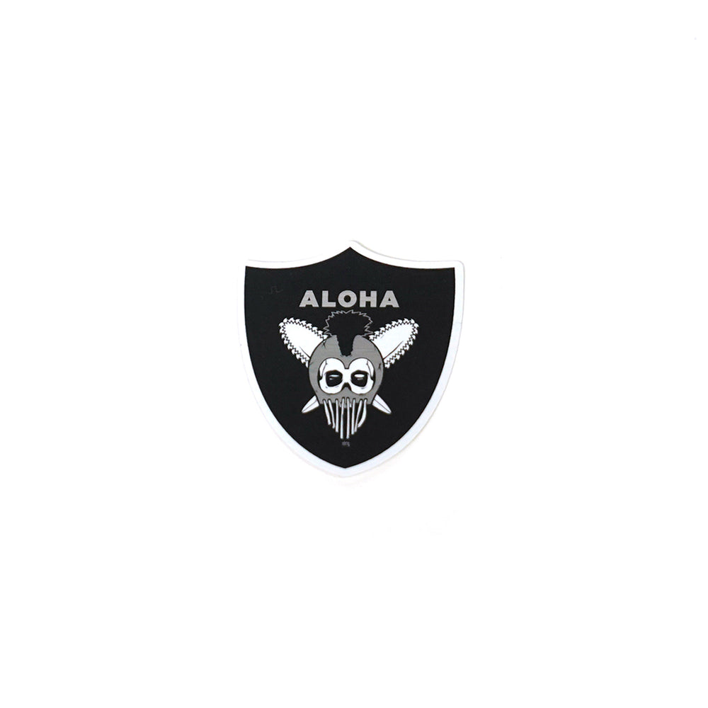 KOA WARRIOR MYLAR STICKER