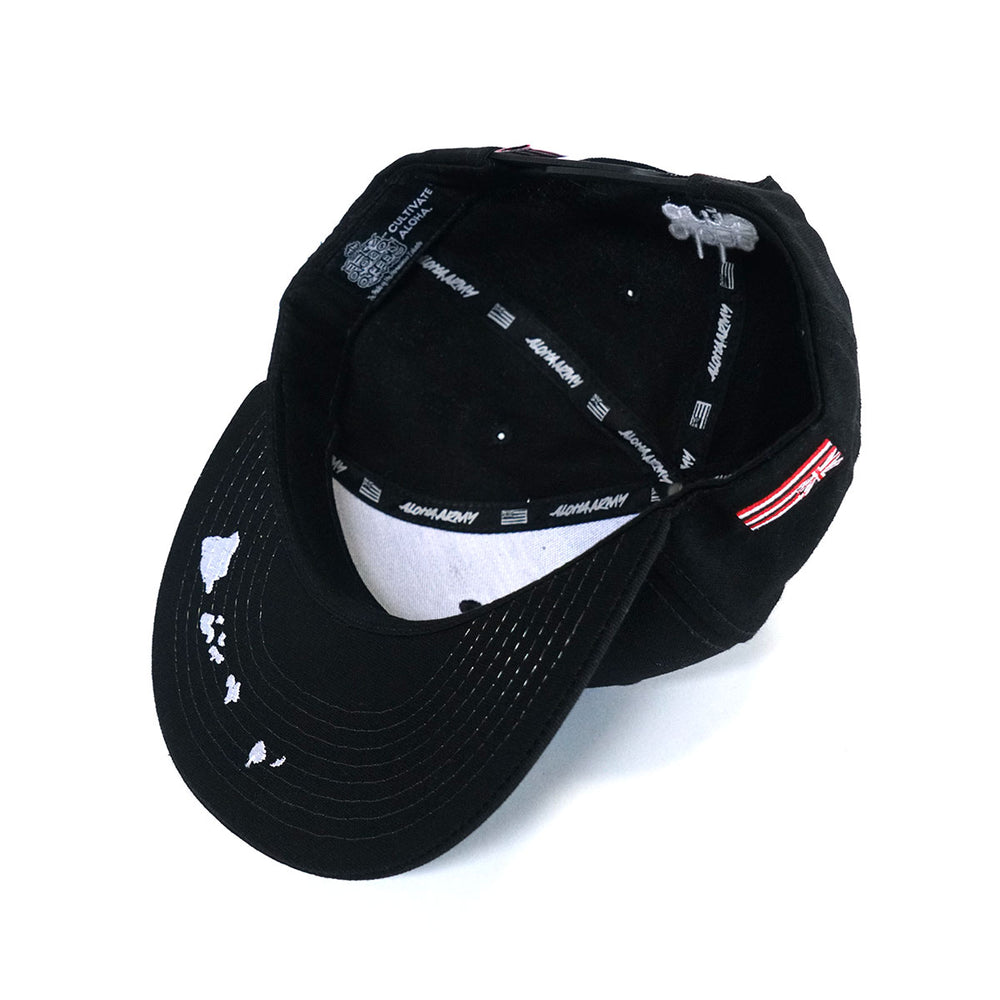 CHIEF MAJOR SNAPBACK (BLACK)
