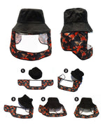 Boba Bucket Face Shield (Boba Floral Face Shield)
