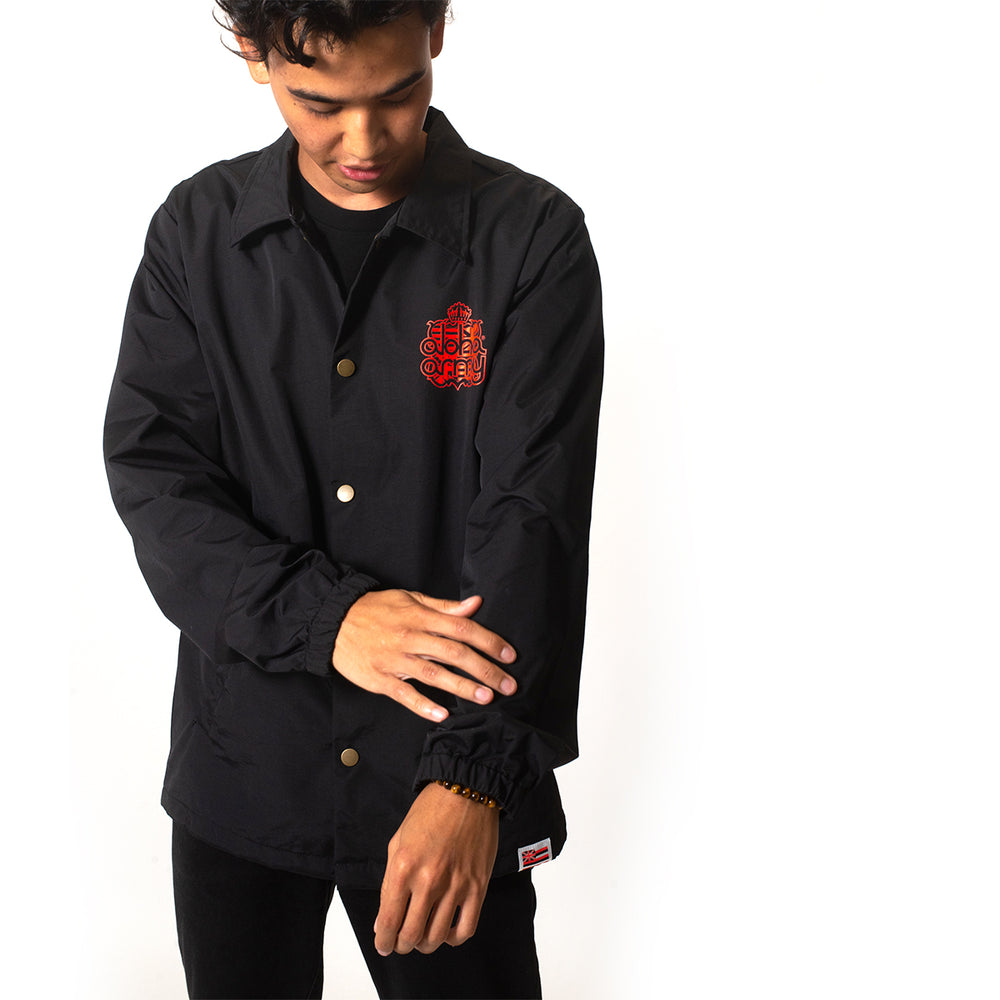 KINGDOM COACHES JACKET (BLACK)