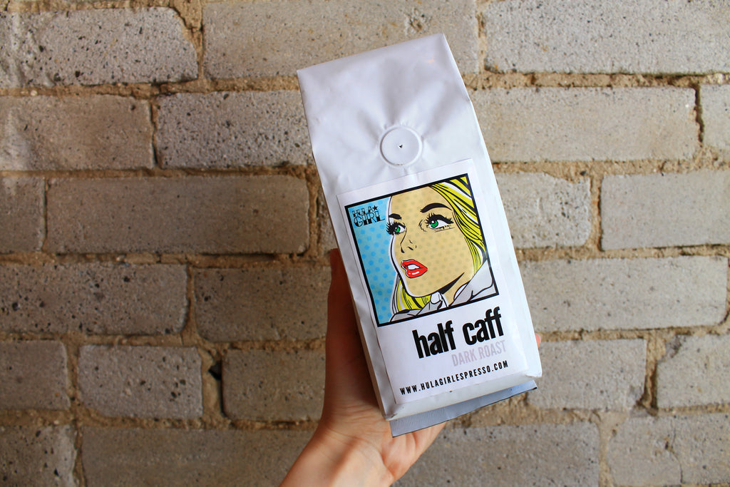 Half Caff Label - Dark Roast (12oz)
